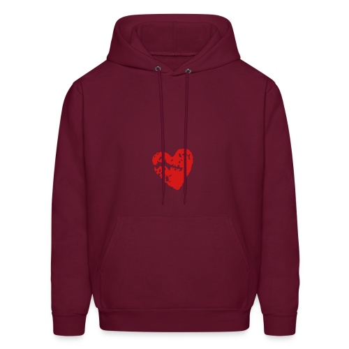 Heart sweatshirt  - Men's Hoodie