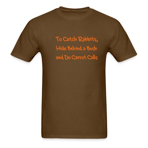 To Catch Rabbits  - Men's T-Shirt