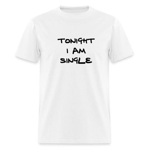 Partyboy's Tonight I'm Single - Men's T-Shirt