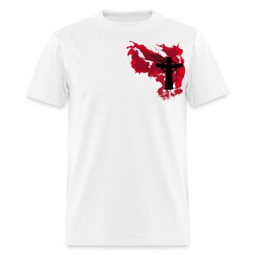 Artistic Blood Cross - Men's T-Shirt