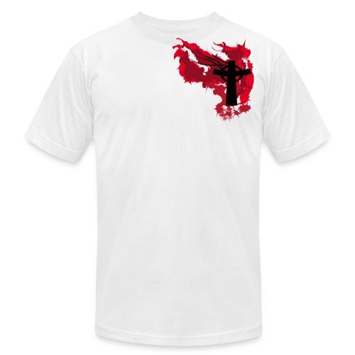 Artistic Blood Cross - Men's  Jersey T-Shirt