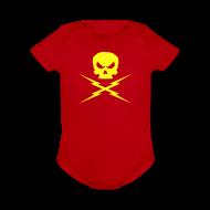 Baby Bodysuits ~ Short Sleeve Baby Bodysuit ~ DETAH PROOF one size baby creeper