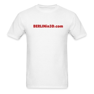 BERLIN in 3D Text Style - Men's T-Shirt