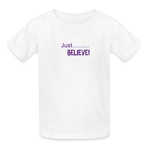 Just.....Believe! (NEW-Holiday) - Kids' T-Shirt