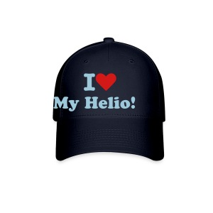 I Love My Helio! Navy Blue Cap w/ Blue & Red - Baseball Cap