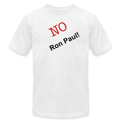 No Ron Paul - Men's Fine Jersey T-Shirt