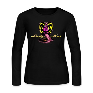 Cobra Kai Womens Long Sleeve 2 - Women's Long Sleeve Jersey T-Shirt