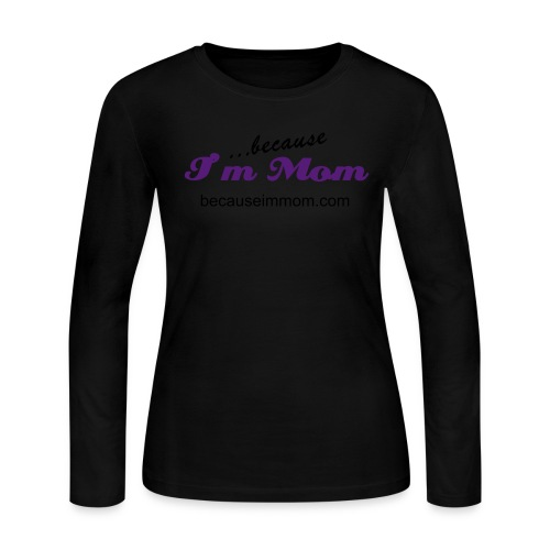 Pink Womens Long Sleeved Tee - Women's Long Sleeve Jersey T-Shirt
