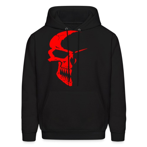 Red Skull Hoodie - Men's Hoodie