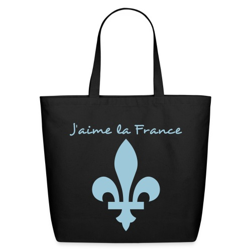 j'aime la france - Eco-Friendly Cotton Tote