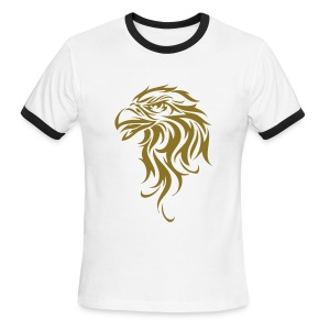 AiruTearim Eagle Tee - Men's Ringer T-Shirt