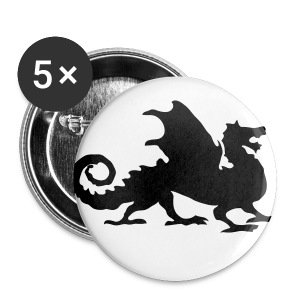 Dragon button - Large Buttons
