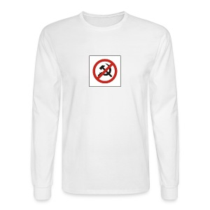 No Commies - Men's Long Sleeve T-Shirt