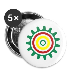 Mysterious Sun Button - Large Buttons