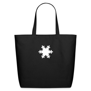 * Snow Flake Tote - Eco-Friendly Cotton Tote