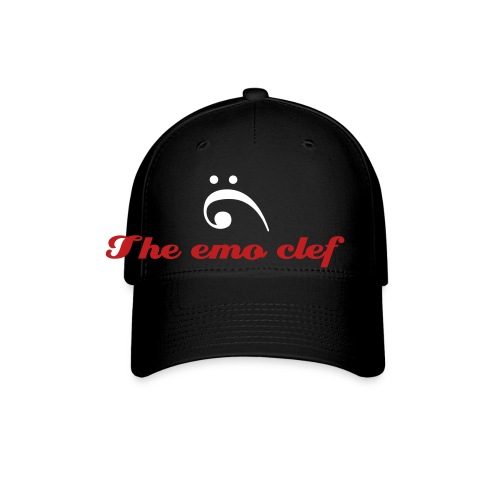The emo clef cap - Baseball Cap