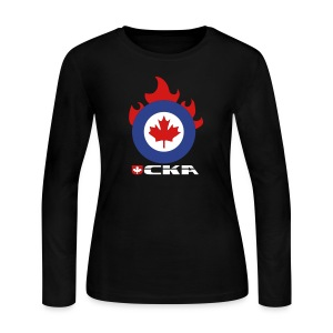 CKA Flame - Women's Long Sleeve Jersey T-Shirt