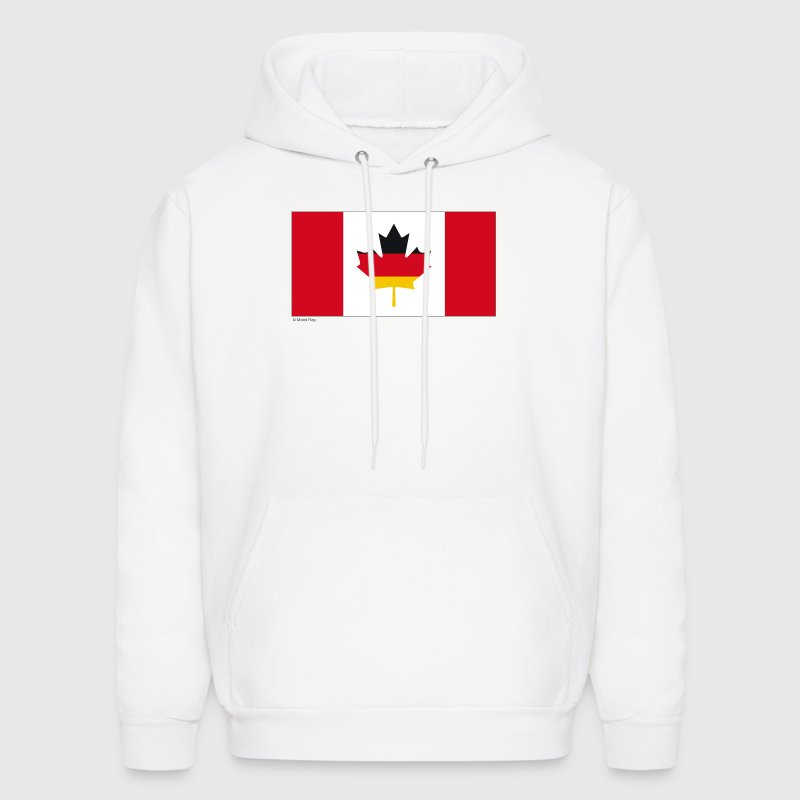 White Canada Germany Sweatshirt - Men's Hoodie
