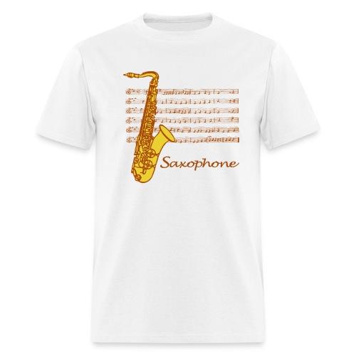 Funky, Funky Saxophone - Men's T-Shirt