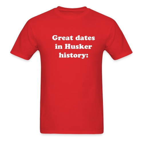 Great Dates part 2 - Men's T-Shirt