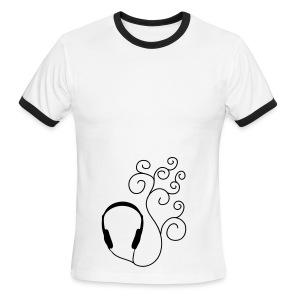 Music! - Men's Ringer T-Shirt