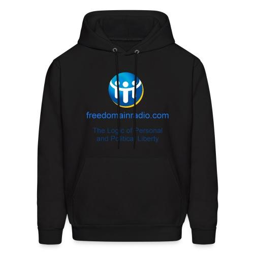 Black Hoodie, New Graphic - Men's Hoodie