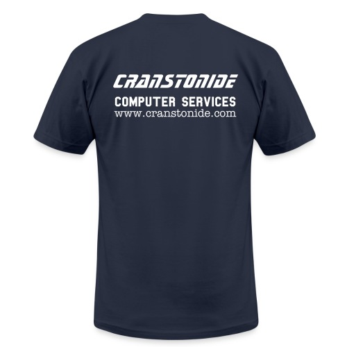 CranstonIde Tee - Back - Men's Fine Jersey T-Shirt