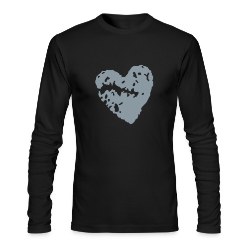 Mens Long Sleeve T w front & Back logo - Men's Long Sleeve T-Shirt by Next Level