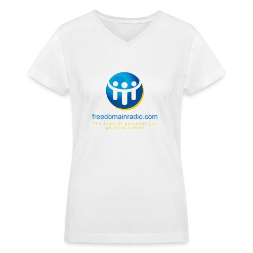 FDR Ladies V-Neck Tee - Women's V-Neck T-Shirt