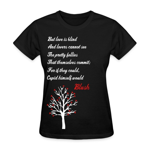 Love is Blind-black - Women's T-Shirt