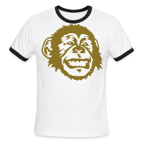 Monkey T-Shirt - Men's Ringer T-Shirt