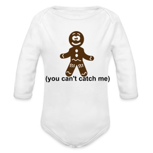 gingerbread - Long Sleeve Baby Bodysuit