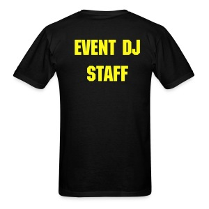 EVENT DJ STAFF - Men's T-Shirt