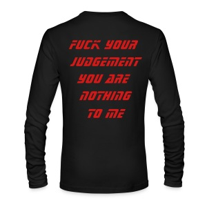 Into Hatred Born Longsleeve - Men's Long Sleeve T-Shirt by Next Level