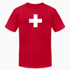 Red Switzerland - Swiss Cross Men