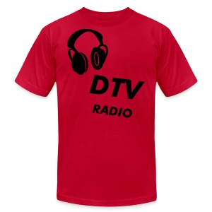 Men's green DTV Radio T-Shirt - Men's Fine Jersey T-Shirt