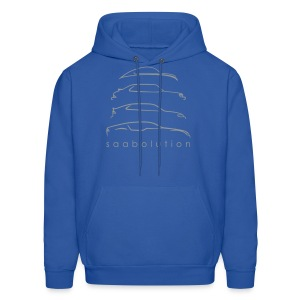 Saabolution hooded (in more colors) - Men's Hoodie