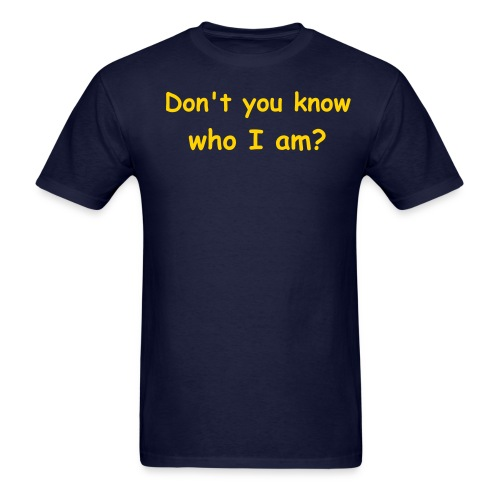 Who I am? Sean Insane Tee - Men's T-Shirt