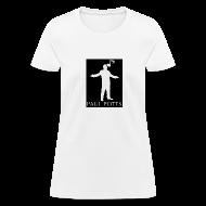 T-Shirts ~ Women's T-Shirt ~ Paul Potts silhouette T-Shirt