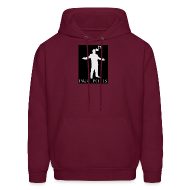 Hoodies ~ Men's Hoodie ~ Paul Potts silhouette sweatshirt