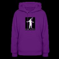 Hoodies ~ Women's Hoodie ~ Paul Potts silhouette sweatshirt