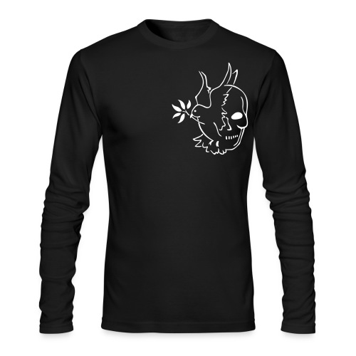 LIFE AND DEATH LONG SLEEVE T-SHIRT BLACK - Men's Long Sleeve T-Shirt by Next Level