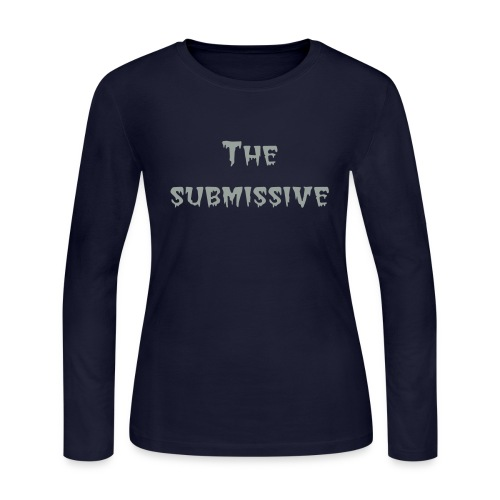 for the submssive - Women's Long Sleeve Jersey T-Shirt