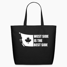 Black West Side is the Best Side Bags