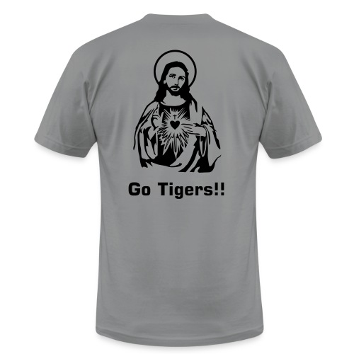 Jesus Loves Our Tigers!!! - Men's  Jersey T-Shirt