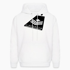 White Canadian Forces Badge Sweatshirt