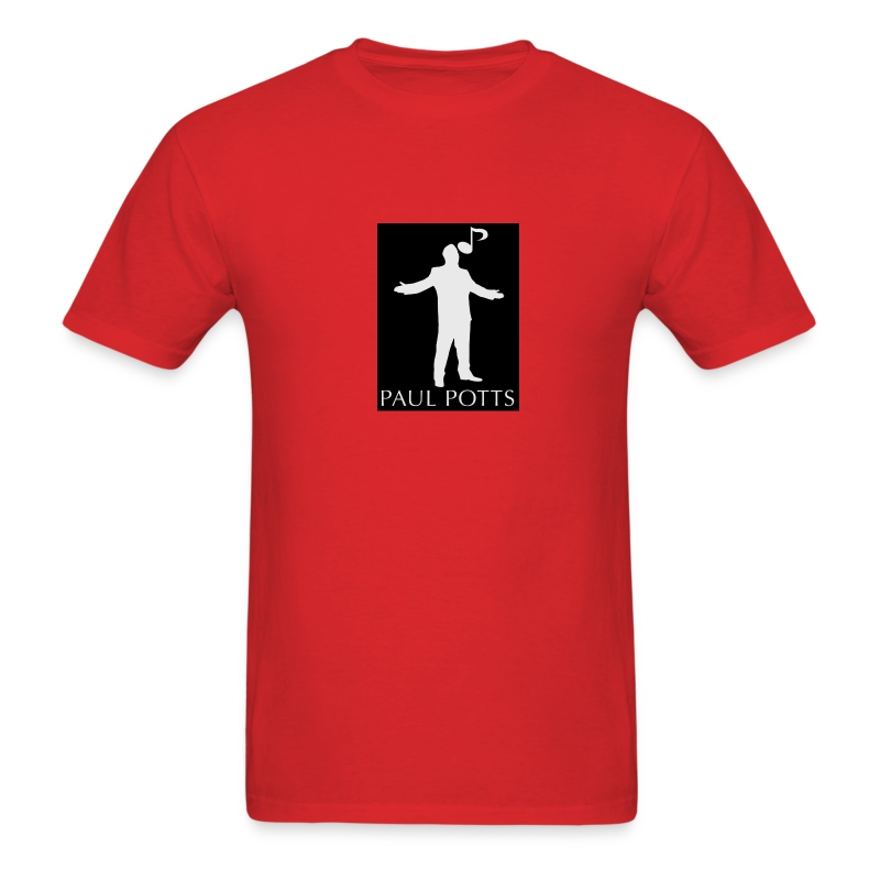 Paul Potts silhouette T-Shirt - Men's T-Shirt