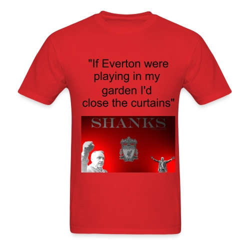 shankly - everton - Men's T-Shirt