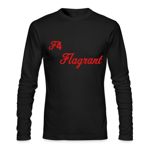 F4 Flagrant  - Men's Long Sleeve T-Shirt by Next Level