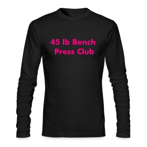 45 Pound Club - Men's Long Sleeve T-Shirt by Next Level